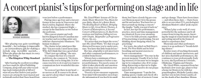 A concert pianist's tips for performing on stage and in life