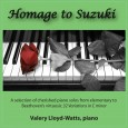 The Suzuki piano repertoire has recently been updated with new pieces all of which are included in this recording as well as Beethoven's Thirty-Two Variations On An Original Theme, WoO8O....