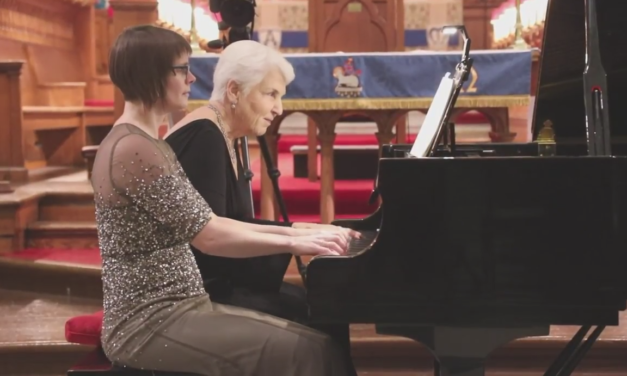 Valery in Concert with Clare Miller at St. Georges Cathedral, Kingston, Ontario