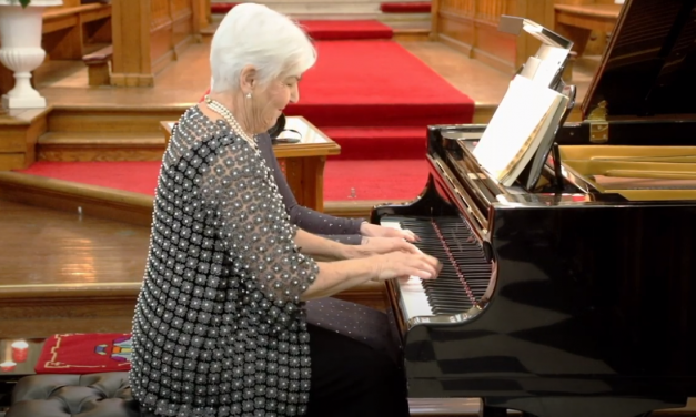 Valery Lloyd-Watts and Clare Miller 4-hand Concert at St. George's Cathedral